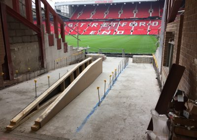Disabled Access, Manchester United Football Club