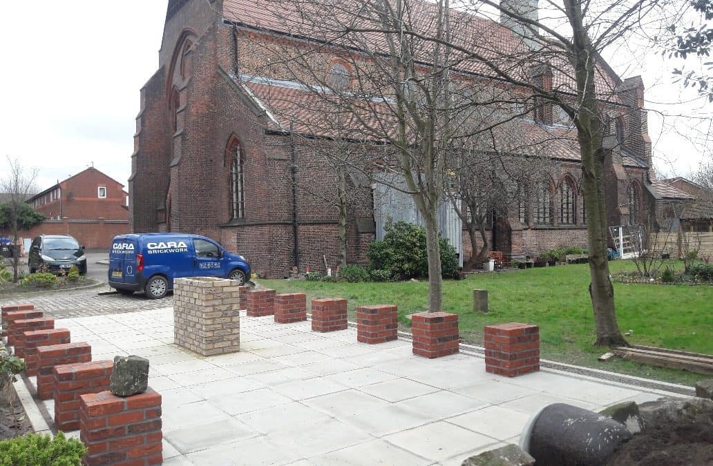 New Easter Garden for Local Church