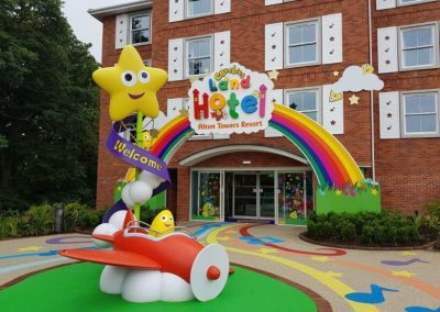 CBeebies Hotel, Alton Towers