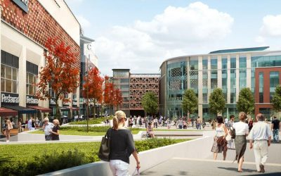 Cara Concrete Flooring Commences Work on Warrington Time Square Project