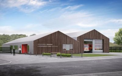 Cara Civil Engineering Awarded Saughall Massie Fire Station Contract