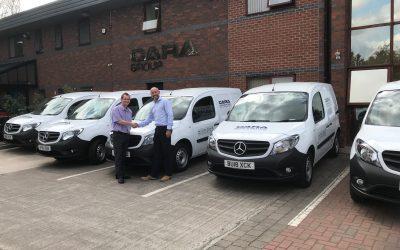 Cara Brickwork Restock Fleet of Vans