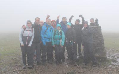 Yorkshire 3 Peaks Challenge Success