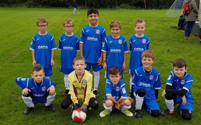 Cara Brickwork Provide Under 9's Football Sponsorship