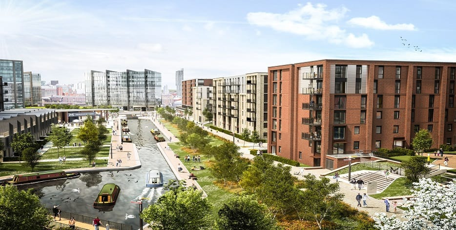 Large Apartment Development of the Year Accolade for Middlewood Locks Scheme