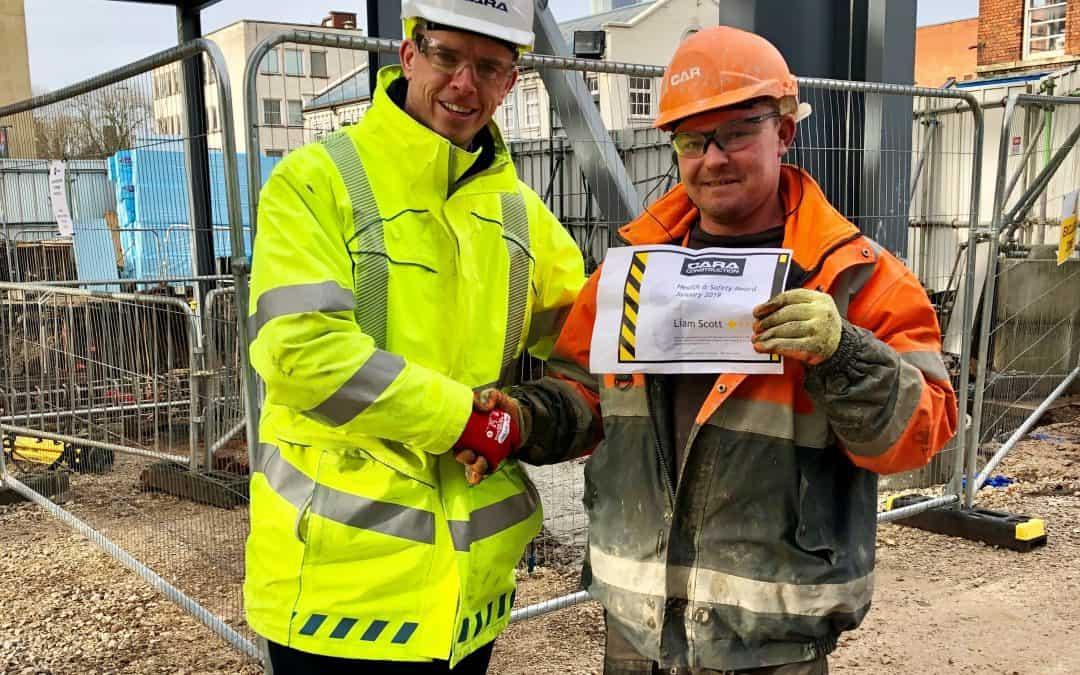 Cara Construction Employee Health & Safety Award
