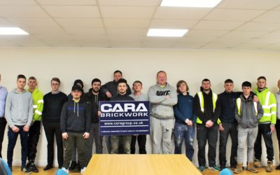 Cara Brickwork Continued Investment in Apprenticeships