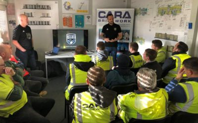 Cara Brickwork Hosts Mental Health Awareness Presentation to Sites