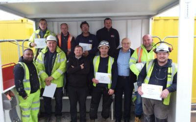 Trio of Health, Safety and Quality Awards on Kings Dock Car Park Project