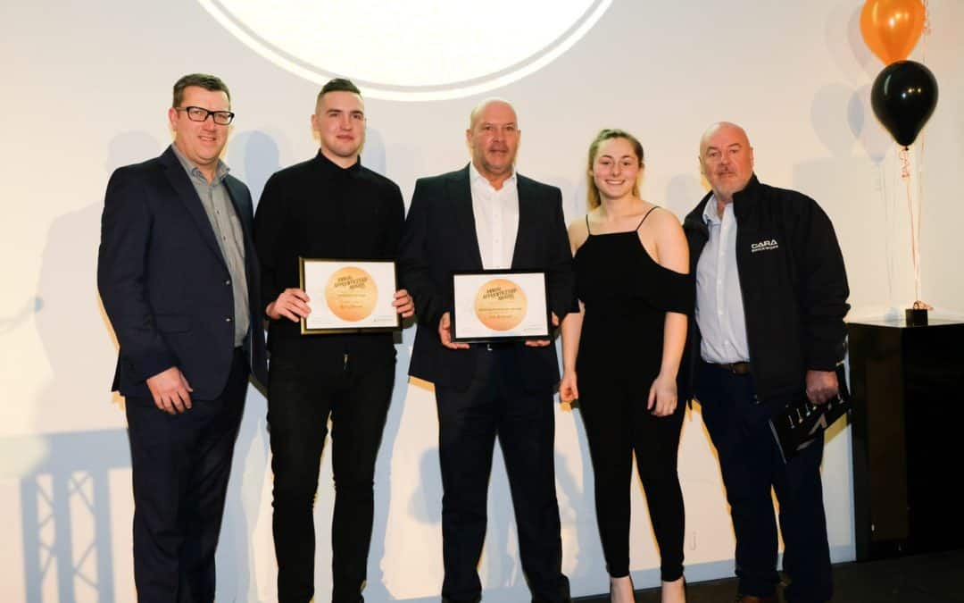 Cara Success at Salford City College Apprentice Awards