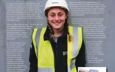 Good Luck to Lauren & Cara Brickwork at the Salford Apprentice Awards