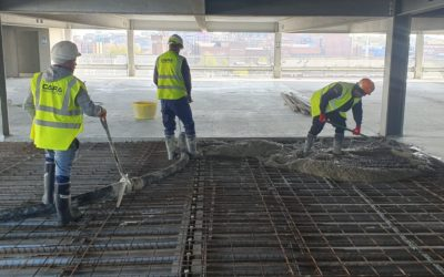 Cara Concrete Flooring – Kings Dock