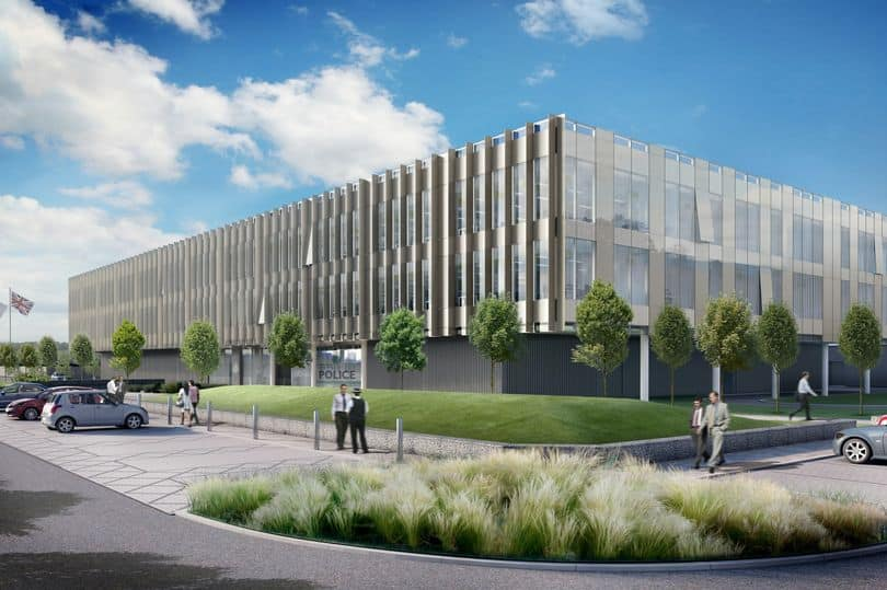 Cara Secure Masonry Package on Force HQ for Willmott Dixon.