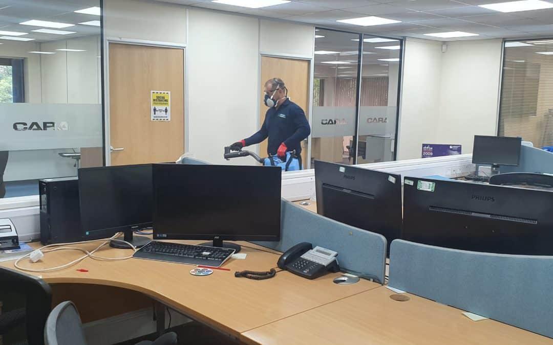 Head office deep clean
