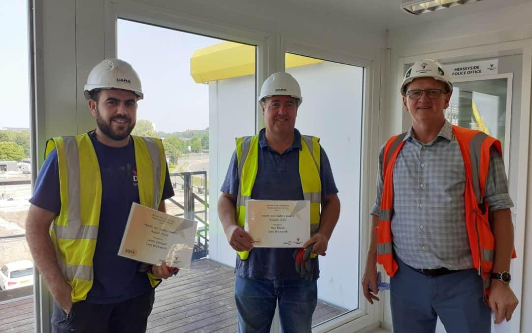 Cara Brickwork wins double Safety Award