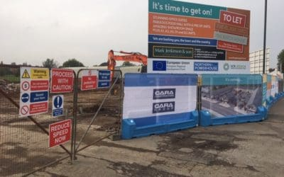 Works commence at The Glass Yard, Chesterfield